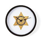 Sutter Creek Police Wall Clock