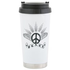 Peace Wing Classic Stainless Steel Travel Mug
