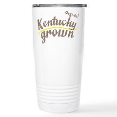 Organic! Kentucky Grown! Stainless Steel Travel Mu