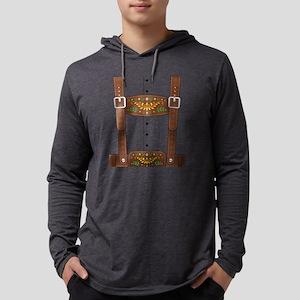 Lederhosen Oktoberfest Long Sleeve T-Shirt