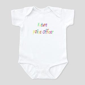 Future Police Office Infant Bodysuit