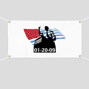 1-20-09 Obama Inauguration Banner