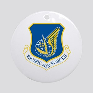 Pacific Air Forces Ornament (Round)