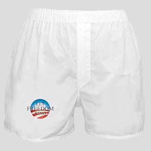 Obama - Let Freedom Ring Boxer Shorts