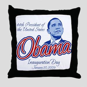 President Obama Throw Pillow