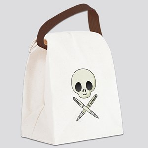 Jolly Roger Writer Canvas Lunch Bag