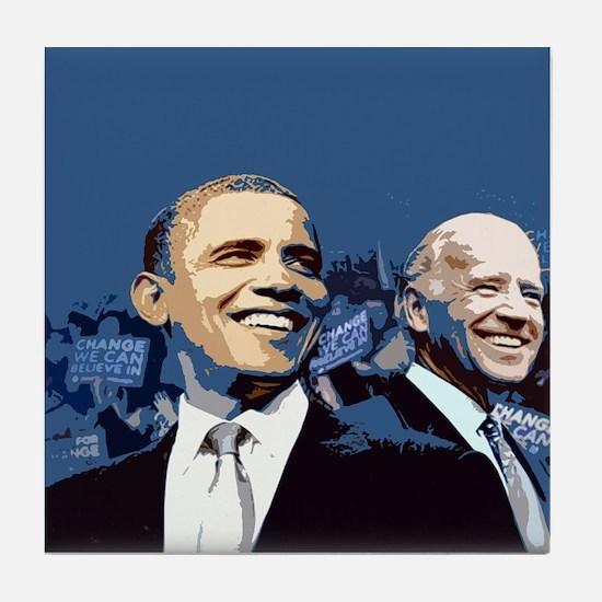 Barack - Biden Tile Coaster