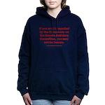 R U Human? Women's Hooded Sweatshirt