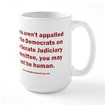 R U Human? 15 oz Ceramic Large Mug