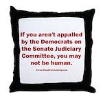 R U Human? Throw Pillow