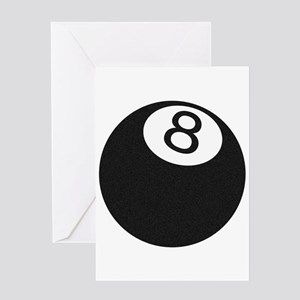 Riyah-Li Designs 8 Ball Greeting Card