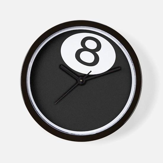 Riyah-Li Designs 8 Ball Wall Clock
