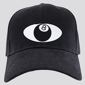 Riyah-Li Designs 8 Ball Black Cap