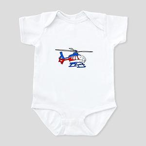 EMS helicopter2 Infant Bodysuit