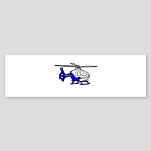 EMS Helicopter3 Bumper Sticker