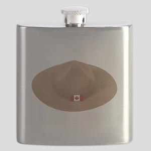 MountieHat051409 Flask