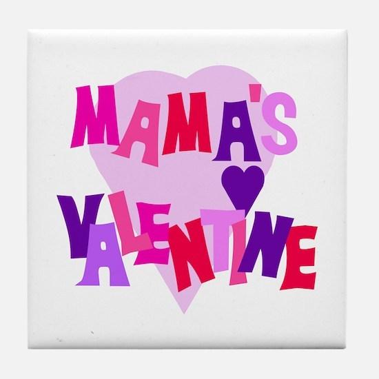 Mama's Valentine Tile Coaster