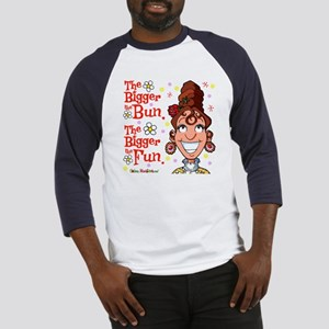 The Bigger the Bun Baseball Jersey