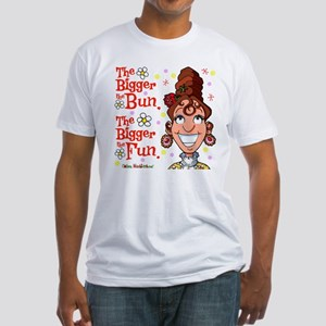 The Bigger the Bun Fitted T-Shirt