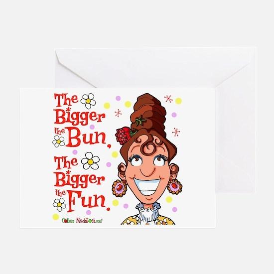 The Bigger the Bun Greeting Card