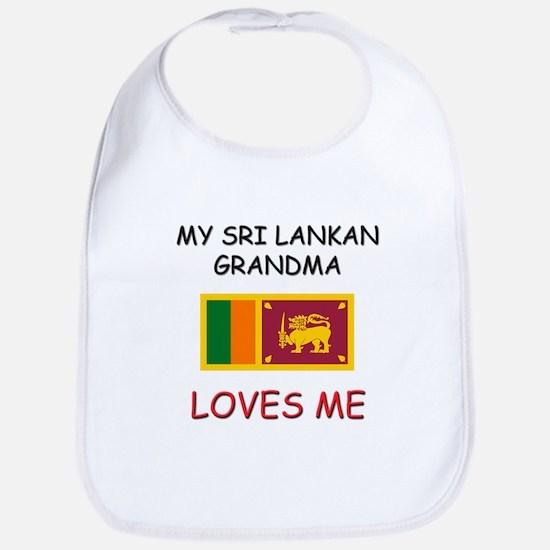 My Sri Lankan Grandma Loves Me Bib