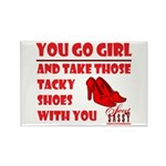 Tacky Shoes Rectangle Magnet (100 pack)