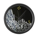 Broken Clock Large Wall Clock
