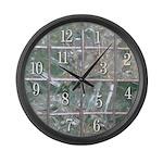 Broken Clock 2 Large Wall Clock