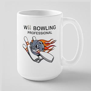 wii bowling professional Large Mug