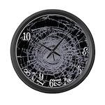 Borken Clock 3 Large Wall Clock