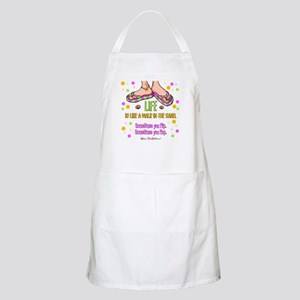 Life is like a walk in the sand BBQ Apron