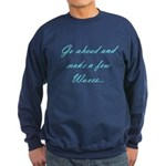 Make Waves Sweatshirt (dark)
