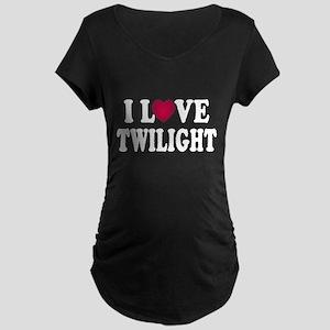 I L<3VE Twilight Maternity Dark T-Shirt
