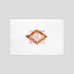 Choke on Bacon 4' x 6' Rug