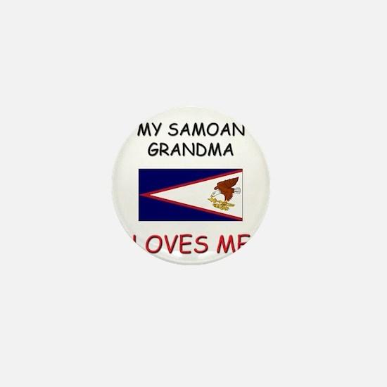 My Samoan Grandma Loves Me Mini Button