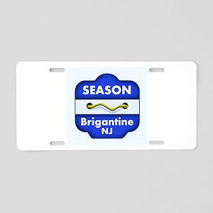 Brigantine Season Badge Aluminum License Plate