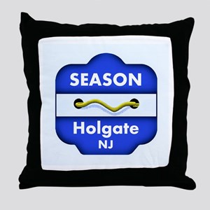 Holgate Season Badge Throw Pillow