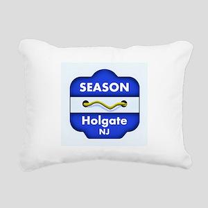 Holgate Season Badge Rectangular Canvas Pillow
