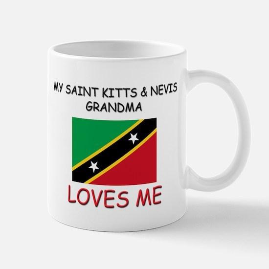 My Saint Kitts & Nevis Grandma Loves Me Mug