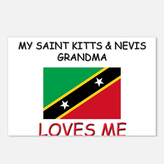 My Saint Kitts & Nevis Grandma Loves Me Postcards