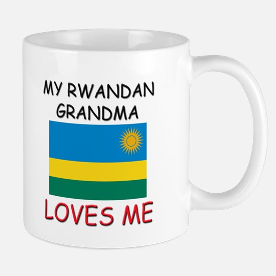 My Rwandan Grandma Loves Me Mug