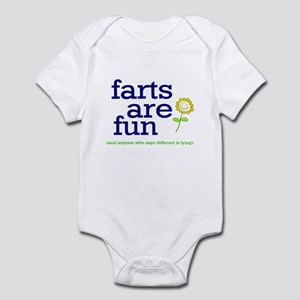 FARTS ARE FUN Infant Bodysuit