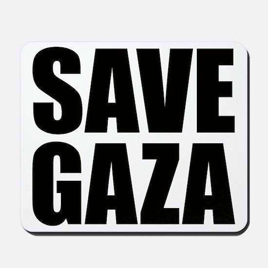 SAVE GAZA Mousepad