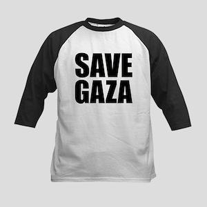 SAVE GAZA Kids Baseball Jersey
