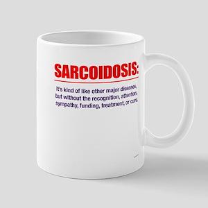 No attention. No cure. Mug