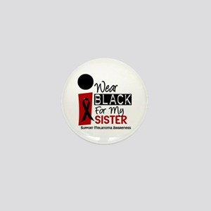 I Wear Black For My Sister 9 Mini Button