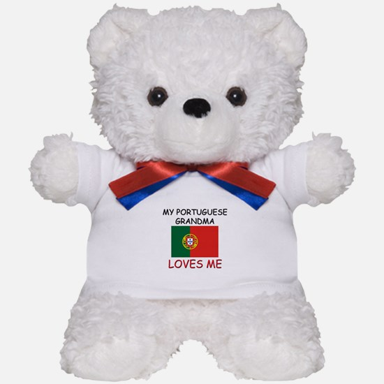 My Portuguese Grandma Loves Me Teddy Bear