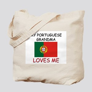 My Portuguese Grandma Loves Me Tote Bag
