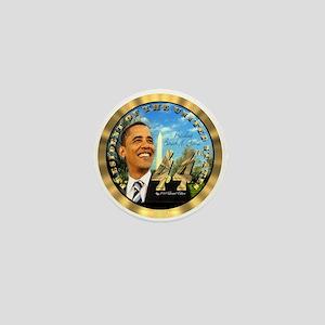 """""""Obama Inauguration"""" Mini Button"""