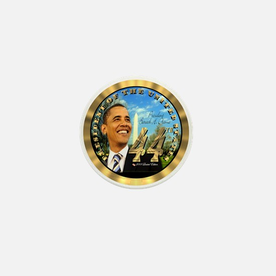 """Obama Inauguration"" Mini Button"